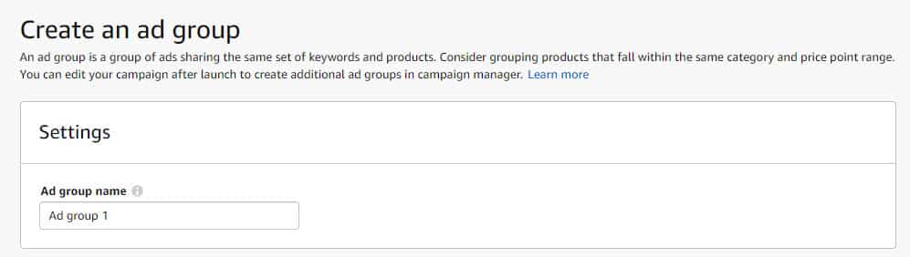 How Can You Set Up Ad Groups for Sponsored Products