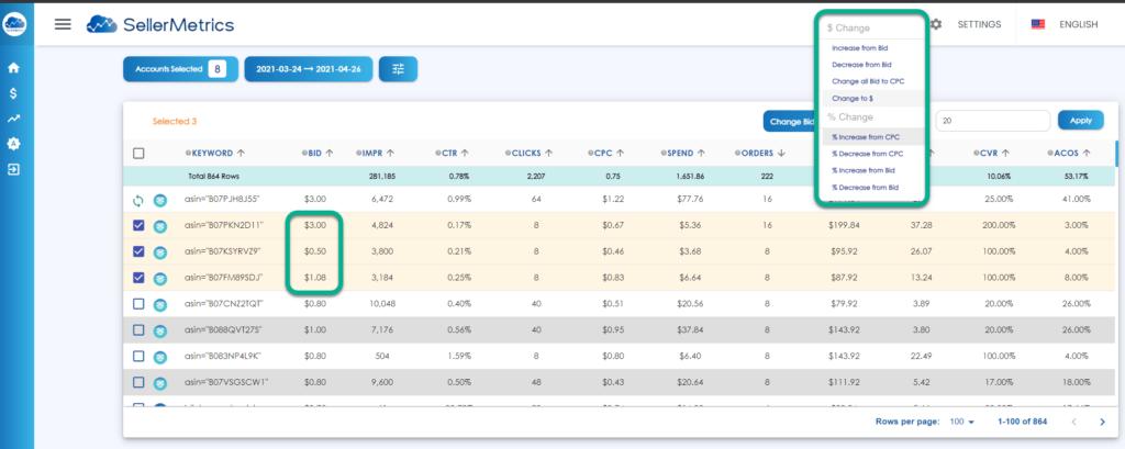 SellerMetrics Review Amazon PPC Software