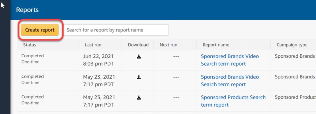 Amazon PPC Reports