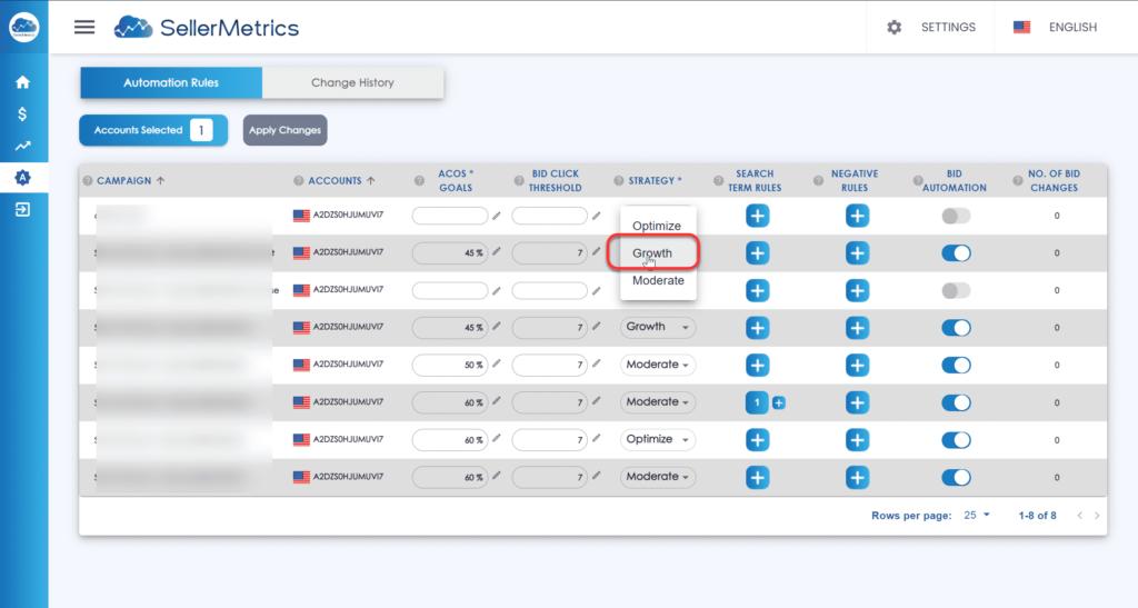 SellerMetrics Amazon PPC Software